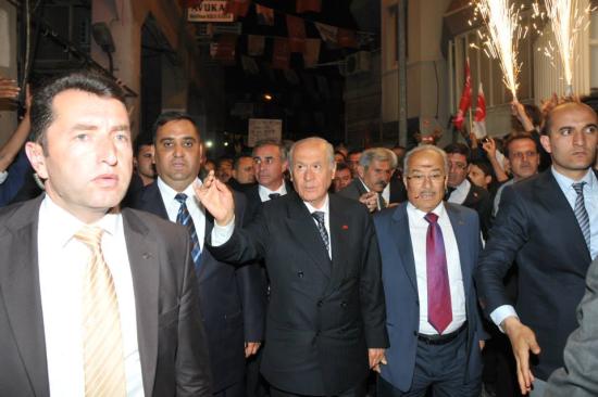 Bahçeli Tarsus'ta 40 Bin Kişiye Seslendi