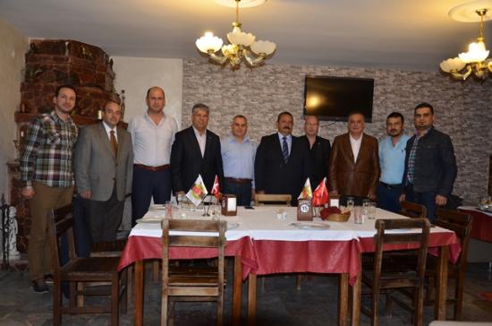 MHP CHP AKP ilçe başkanları