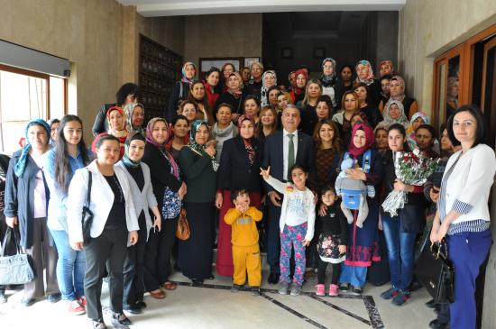 Baki Şimşek, Tarsus Kadın Kolları'na 'Çıkarma' Yaptı