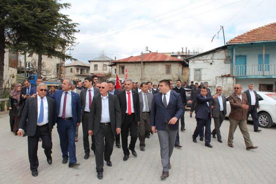 MHP Mersin Milletvekili Adayları Çamlıyayla Hattında