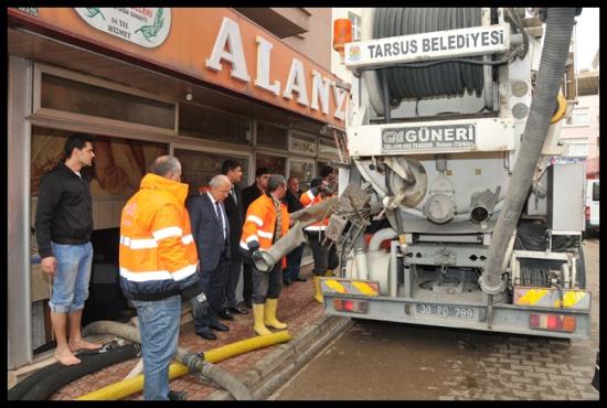 Mersin Esnafının İmdadına Tarsus Belediyesi Yetişti