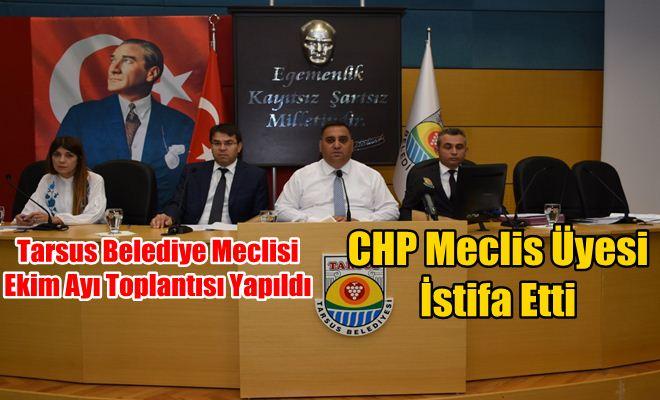 Tarsus Belediye Meclisi Ekim Ayı Toplantısı Yapıldı