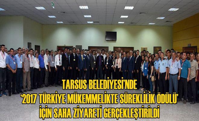 '2017 Türkiye Mükemmelikte Süreklilik Ödülü'