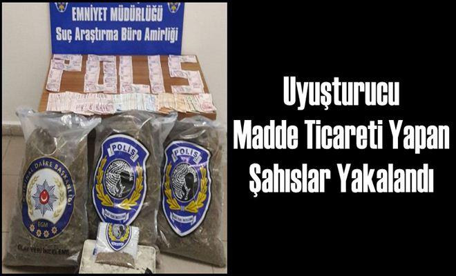 Uyuşturucu Madde Ticareti Yapan Şahıslar Yakalandı