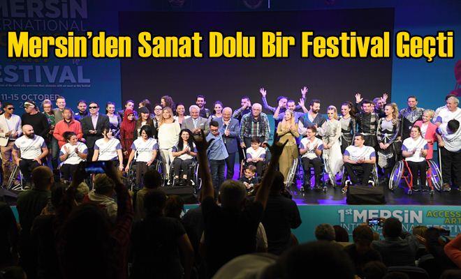 Mersin'den Sanat Dolu Bir Festival Geçti