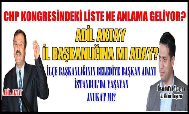 Tarsus CHP İlçe Kongresinin Ardından