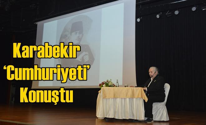 Karabekir 'Cumhuriyeti' Konuştu