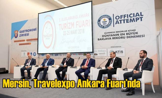Mersin, Travelexpo Ankara Fuarı'nda