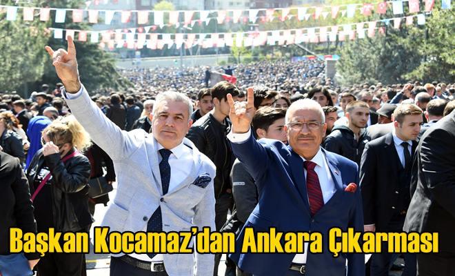 Başkan Kocamaz'dan Ankara Çıkarması