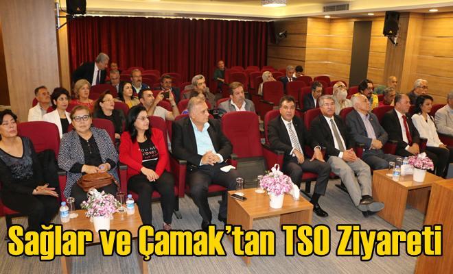 Sağlar ve Çamak'tan TSO Ziyareti
