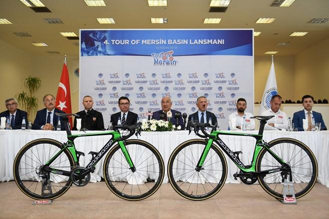 """Başkan Kocamaz """"Mersin'i Spor Kenti Yapmaya Kararlıyız"""""""