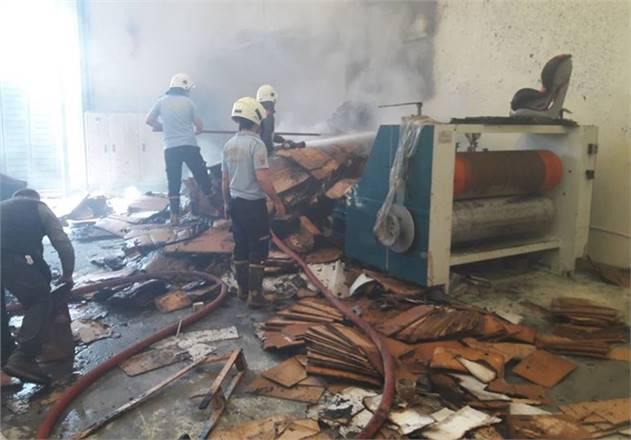 Tarsus'ta Yangın