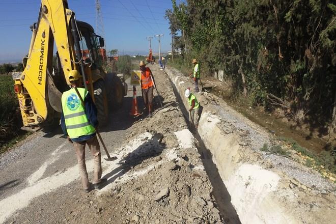 Tarsus'ta İçme Suyu Şebeke Hattı Çalışmaları Tamamlandı