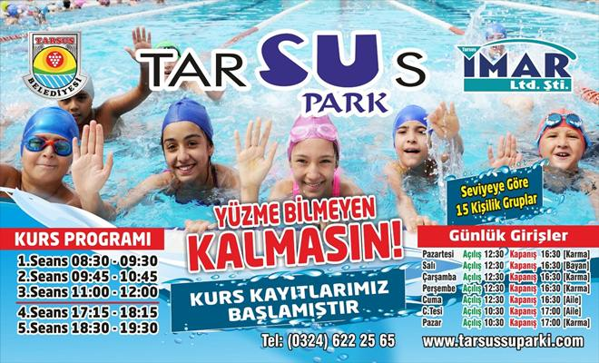 Tarsus Su Park Sezonu Açtı