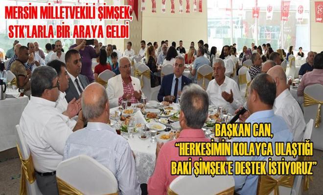 Mersin Milletvekili Şimşek, STK'larla Bir Araya Geldi