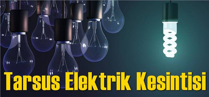 Tarsus Elektrik Kesintisi