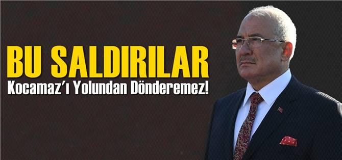 Başkan Kocamaz'dan Kısa Mesaj Açıklaması
