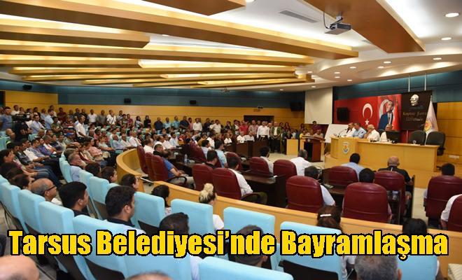 Tarsus Belediyesi'nde Bayramlaşma