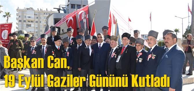 Başkan Can, 19 Eylül Gaziler Gününü Kutladı