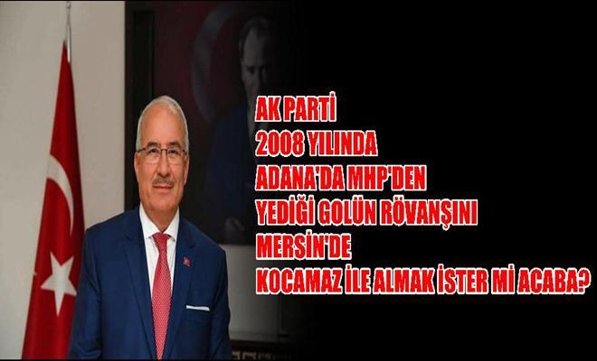 Ak Parti MHP'den Rövanşı Alır mı Acaba?
