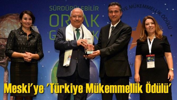 Meski'ye 'Türkiye Mükemmellik Ödülü'