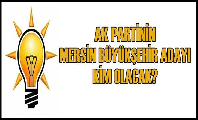 Ak Partinin Mersin Büyükşehir Adayı Kim Olacak?