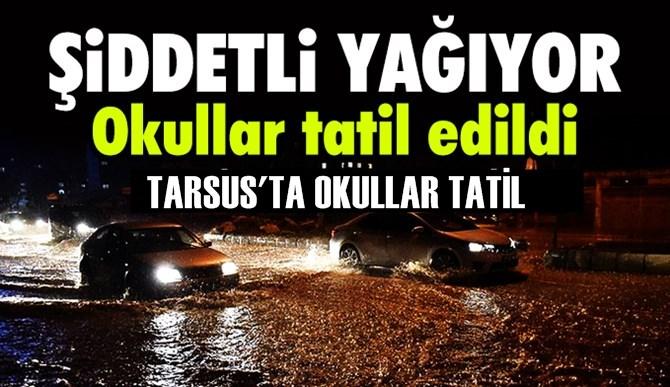 Tarsus'ta Okullar Tatil