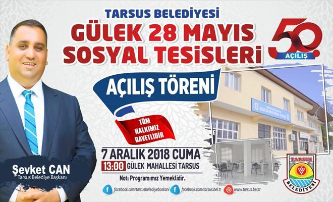 Tarsus Belediyesi 50. Hizmetini Açıyor