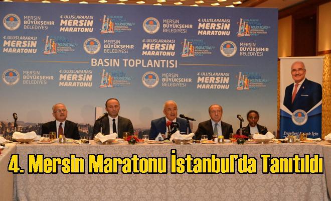 4. Mersin Maratonu İstanbul'da Tanıtıldı