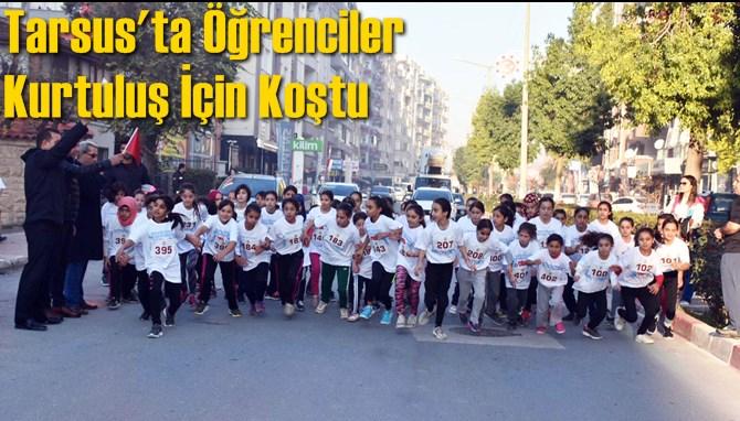 Tarsus'ta Öğrenciler Kurtuluş İçin Koştu