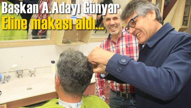 CHP'li Günyar, Seçim Çalışmalarını Sürdüyor