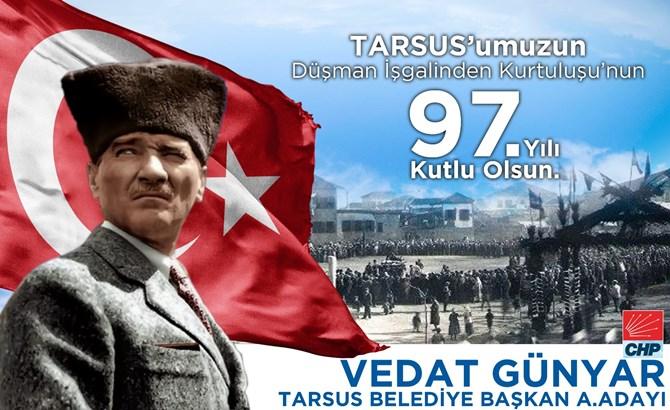 Günyar, Tarsus'un Kurtuluş Gününü Kutladı