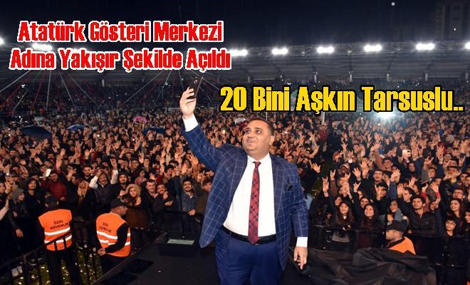 Atatürk Gösteri Merkezi Adına Yakışır Şekilde Açıldı