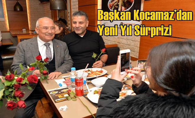 Başkan Kocamaz'dan Yeni Yıl Sürprizi