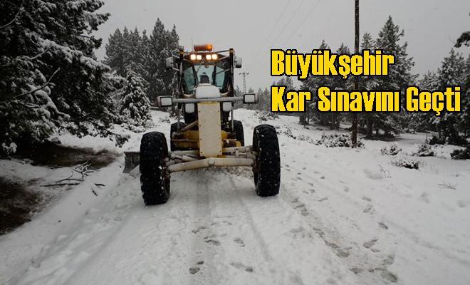 Büyükşehir Kar Sınavını Geçti