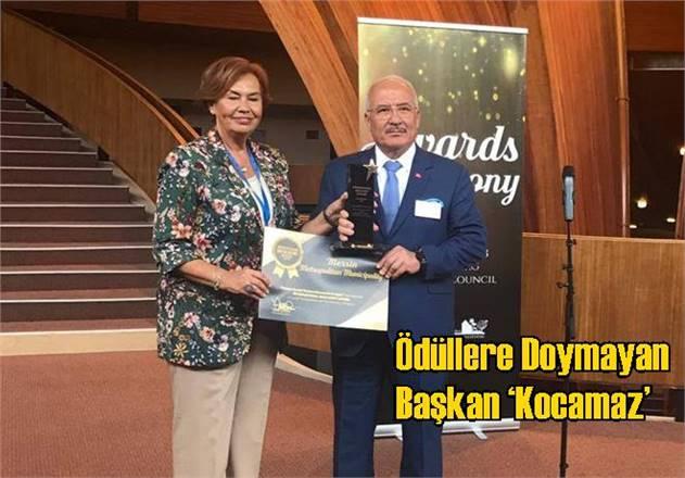Ödüllere Doymayan Başkan 'Kocamaz'