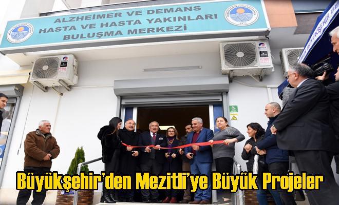 Büyükşehir'den Mezitli'ye Büyük Projeler