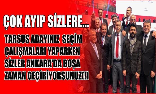 Ankara'da Boşa Zaman Geçiren Adaylar Var(!)