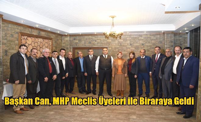 Başkan Can, MHP Meclis Üyeleri ile Biraraya Geldi