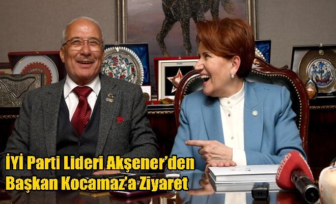 İYİ Parti Lideri Akşener'den Başkan Kocamaz'a Ziyaret