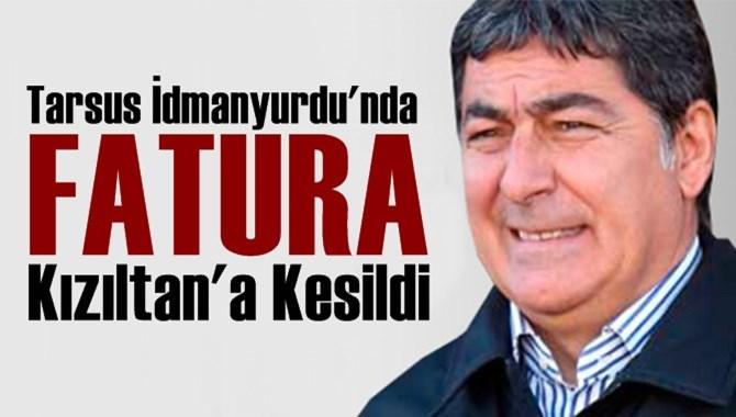 Tarsus İdmanyurdu'nda Fatura Teknik Direktöre Kesildi