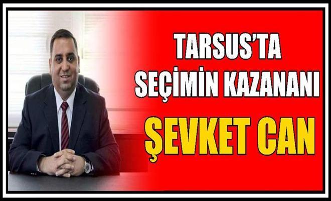Tarsus'ta Seçimin Kazananı Şevket Can