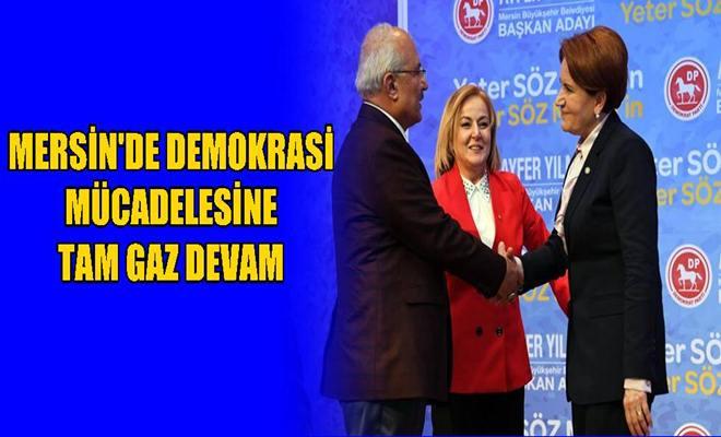 Mersin'de Demokrasi Mücadelesine Tam Gaz Devam