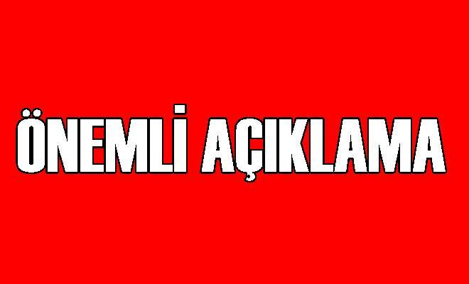 Mersin Büyükşehir Belediyesinden Önemli Açıklama