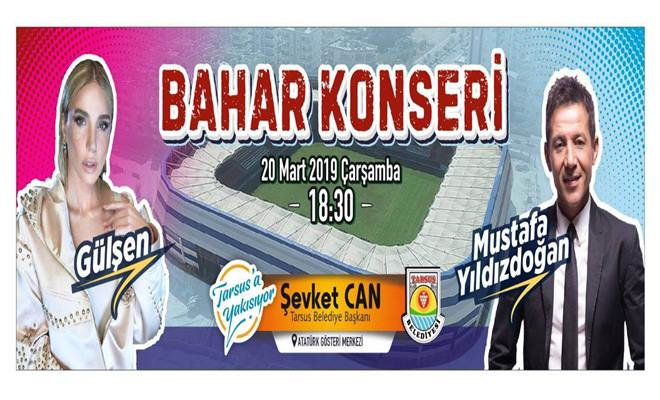 Gülşen ve Mustafa Yıldızdoğan 20 Mart'ta Bahar Konserinde