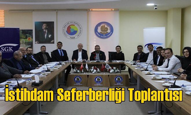 İstihdam Seferberliği Toplantısı