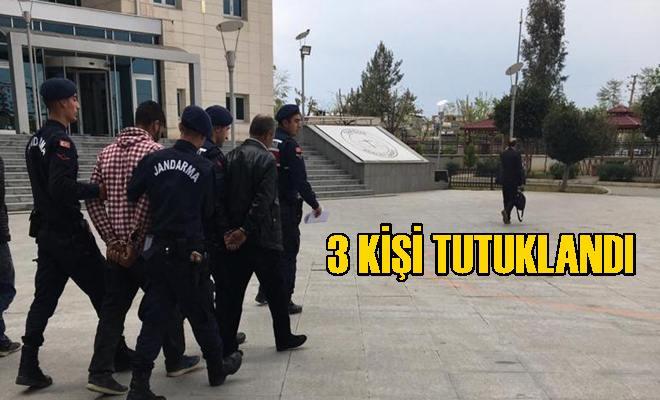 Tarsus'ta 3 Kişi Tutuklandı