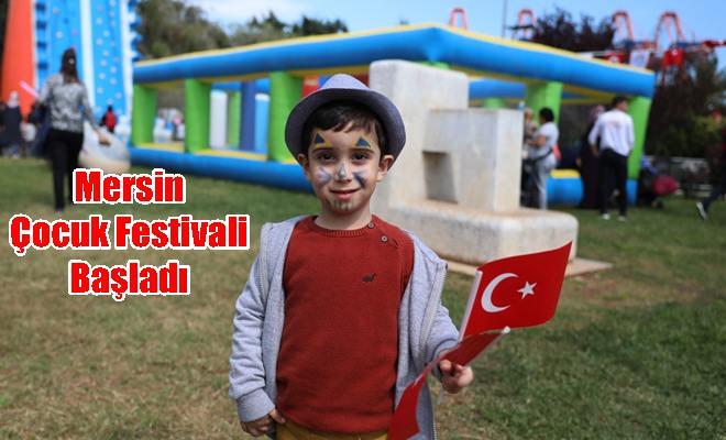 Mersin Çocuk Festivali Başladı