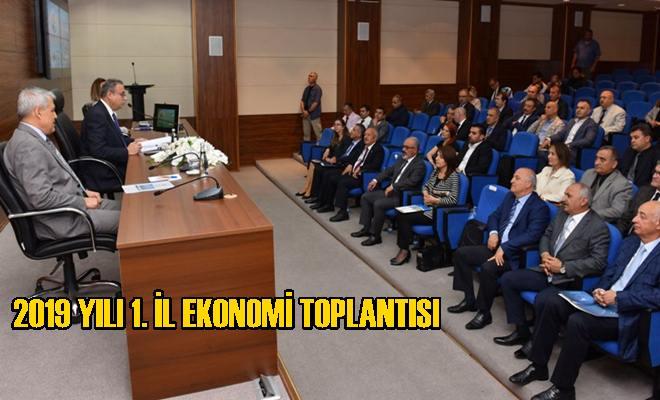 2019 Yılı 1. İl Ekonomi Toplantısı Vali Ali İhsan Su Başkanlığında Yapıldı