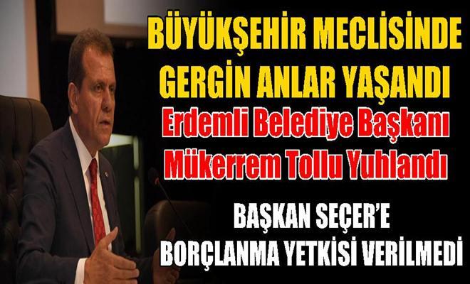 Mersin Büyükşehir Belediyesi Meclis Toplantısında Gergin Anlar Yaşandı